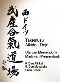 Takemusu Aikido - Dojo - Ute van Meerendonk, Mark van Meerendonk