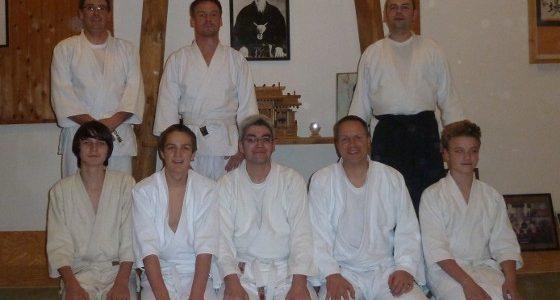 Erfolgreiche Kyu-Prüfungen 2013