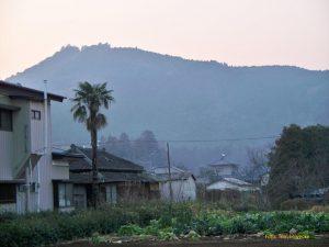 """Atago-San"". Der Berg Atago in Iwama."
