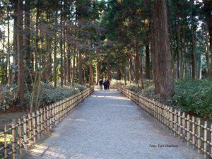 Angelegter Park des Mito-Clans, nahe Iwama