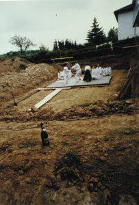 Das erste Training 1991